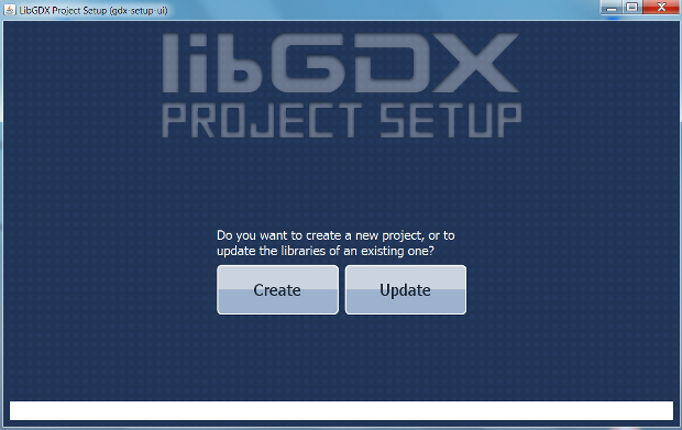 LibGDX Project Setup